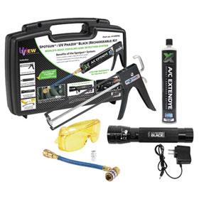 UView Spotgun / UV Phazer Black Rechargeable Leak Detection Kit - 414565A