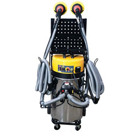 Uni-Ram 2 Hose Mobile Dust Extraction System - UR800QVAC