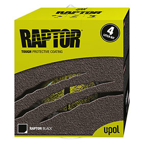 U-POL 4 Liter Raptor Bed Liner Kits