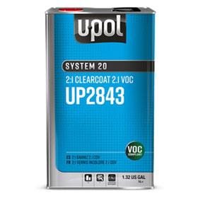 U-POL System 20 2:1 Clearcoat 2.1 VOC - UP2843