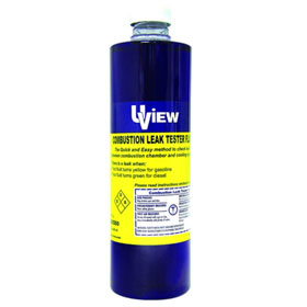 UView Replacement Combustion Leak Tester Fluid, 16 oz. - 560500