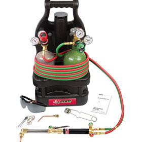 Firepower OxyFuel 250 Portable System with Tote and Fillable Tanks - 0684-0977