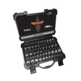 VIM Tools 77 Pc. Master Torx Driver Set - TMS77