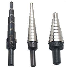 Irwin Vise-Grip Unibit® Step 3 Pc Cobalt Drill Set, HSS #1, #2, #3 - 10502CB