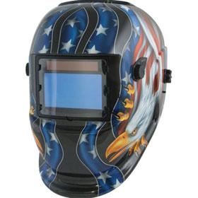 Titan Tools Wide-View Solar Powered Welding Helmet