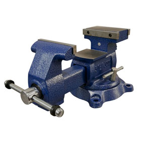 "Wilton 6.5"" Reversible Mechanics Vise with Swivel Base"