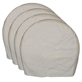 AES Heavy-Duty Canvas Wheel Maskers - Set of 4