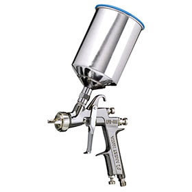 Anest Iwata Center Post Gravity Fed HVLP Spray Gun - LPH400-LV