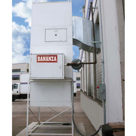 Bananza SPRAY-CURE™ B-Series Direct-Fired Make-up Air System - B-1000