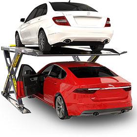BendPak 6000lb AutoStacker Car Platform Parking Lift w/ Power Unit - PL-6SR