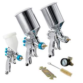 DeVilbiss StartingLine HVLP Painting, Priming & Touch-up Paint Gun Kit - 802789