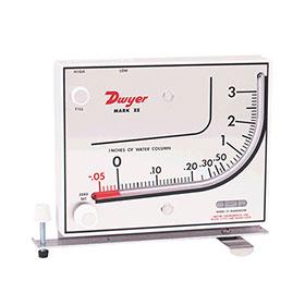 Dwyer Mark II Molded Plastic Manometer