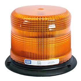 "ECCO 5"" Pulse II LED Beacon Light, SAE Class II"