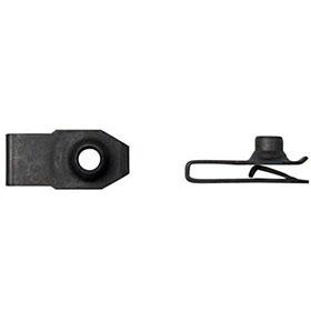 6mm Long Fold Clip 'U' Extruded Nut