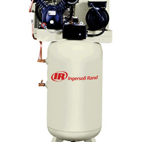 Ingersoll Rand 7.5HP 80 Gallon Vertical Air Compressor Package - 2475N7.5-P
