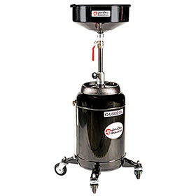 JohnDow 16 Gallon Portable Oil Drain - JDI-16DC-E