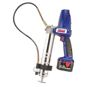 Lincoln Professional Two-Speed 14.4 Volt Cordless Grease Gun Kit - 1444