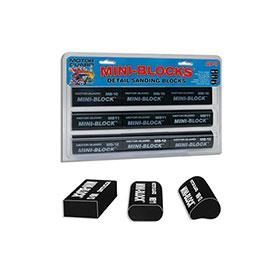 Motor Guard Mini-Blocks Detail Sanding Blocks Assortment - AP-7