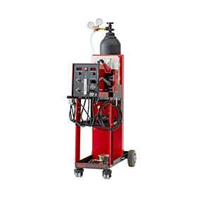 Polyvance Digital Nitro Fuzer Nitrogen Plastic Welder w/ Cart, Dual Gas - 8202