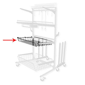 "ProLific Parts Caddy PRO 4"" Medium Shelf"