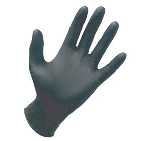 SAS Black Nitrile Powder-Free Disposable Gloves