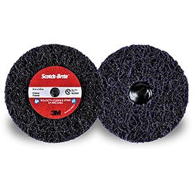 """3M Scotch-Brite Roloc+ 4"""" Clean & Strip XT Pro Disc - 21552"""