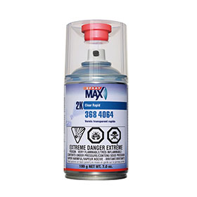 SprayMax 2K Rapid Clear, 250ml Aerosol - 3684064