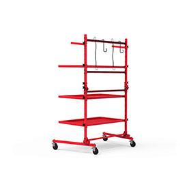 Steck PRO Folding Parts Cart - 35950