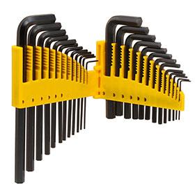Titan Tools 25pc Hex Key Set - 12712