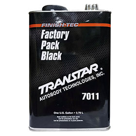 Transtar Factory Pack Black Basecoat Car Paint - TRE-7011