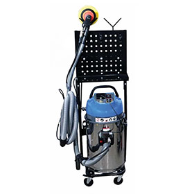 Uni-Ram One-Person Mobile Dust Extraction System - UR300QVAC