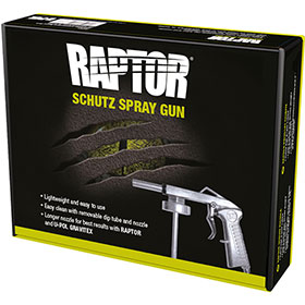 U-POL Standard Application Gun for Raptor & Gravitex - UP0726