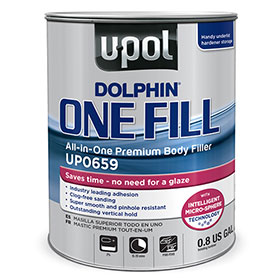 U-Pol Dolphin ONE FILL All-In-One Premium Body Filler - UP0659