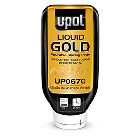 U-POL Liquid Gold Pourable Glazing Putty - UP0670