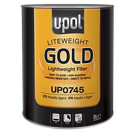 U-POL Liteweight Gold Lightweight Body Filler - UP0745