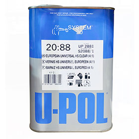 U-Pol European Universal HS Clear - UP2881