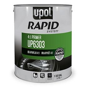 U-POL Rapid System 4:1 Primer, Gray