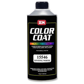 SEM Color Coat (Tinting White)