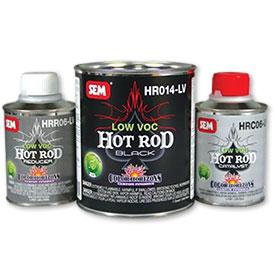 SEM Hot Rod Smoke Kit - Low VOC Matte Finish 2K Topcoat -  HR030-LV