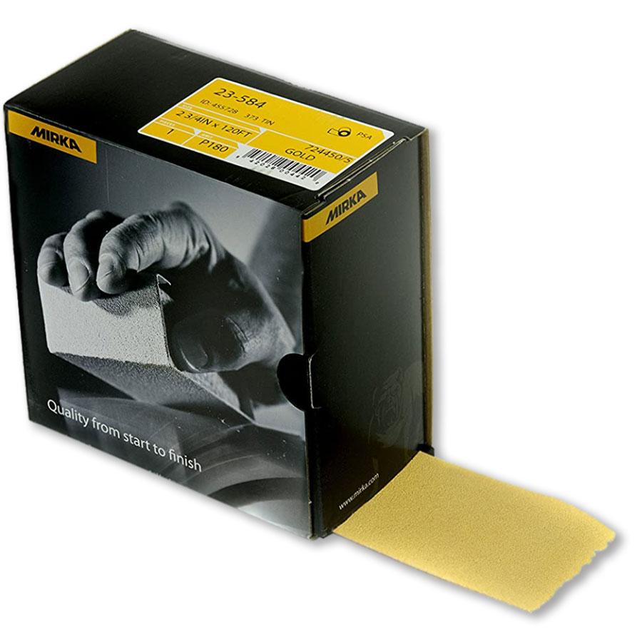 Mirka Gold Autokut PSA Sandpaper Rolls