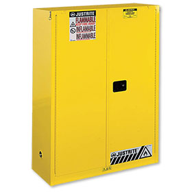 Justrite 60 Gallon Sure-Grip Ex Safety Cabinet For Combustibles - Self-Close