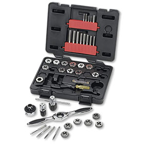 GearWrench 40-Piece Tap & Die Metric Set - 3886