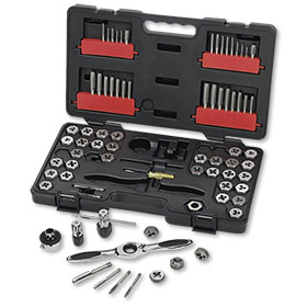 GearWrench 75-Piece Tap & Die SAE & Metric Set - 3887