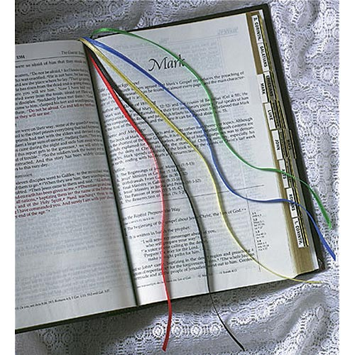 Five Ribbon Bookmark