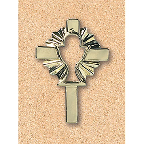 Pin:Cross With Cutout Chalice
