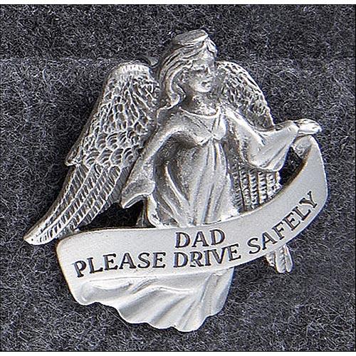 Drive Safely Angel Visor Clip - Dad