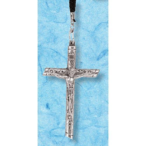 Metal Crucifix on Cord
