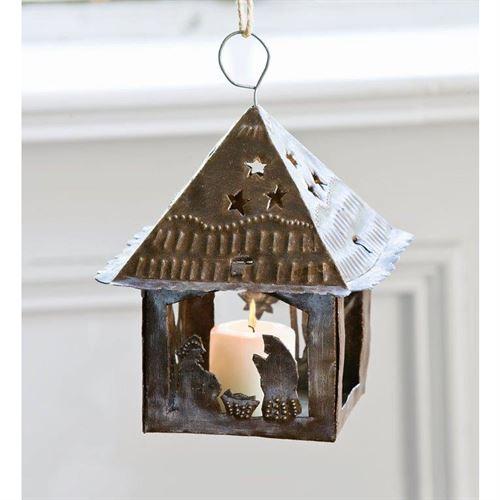 Primitive Nativity Lantern