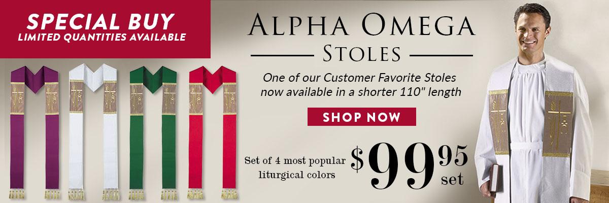 Autom Alpha Omega Stoles