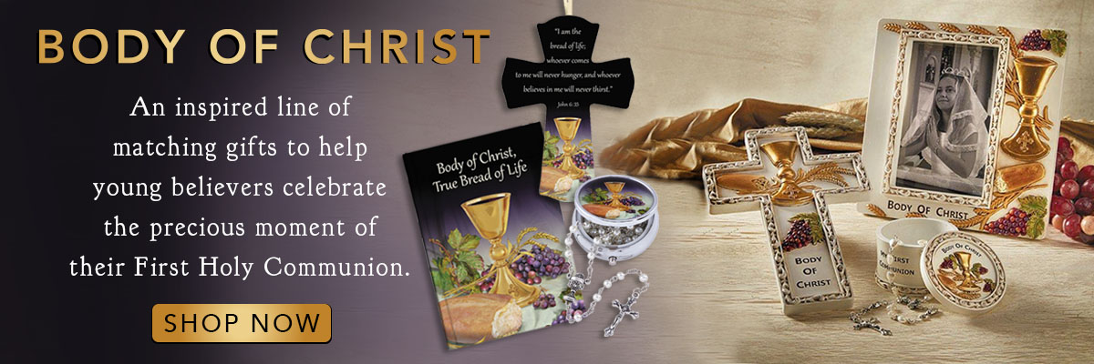 New for Spring! The Body of Christ First Communion Collection